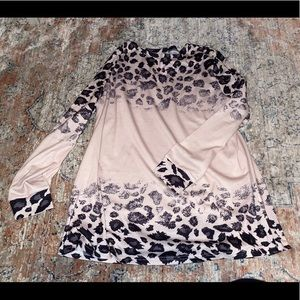 Tickled Teal Leopard Tunic